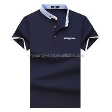 High Quality polo collar tshirt design from China fred perries polo shirt custom fabric