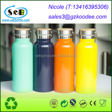Reflect Stainless Steel Water Bottle with Bamboo lid