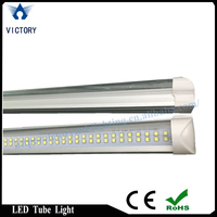 Best price double line 1200mm tube 8 led tube light 22w for sale