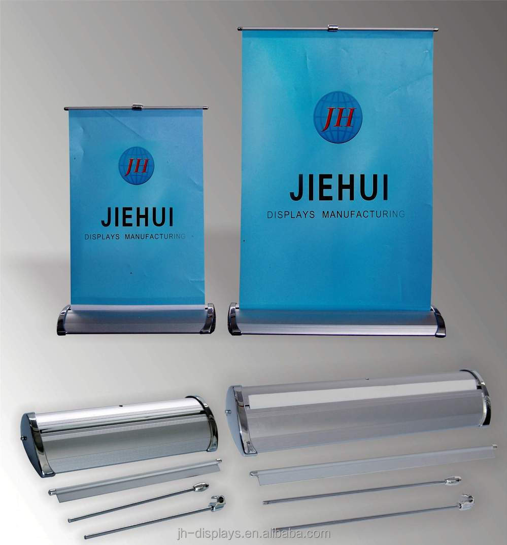 Tabletop Roll Up Banner Stand Mini Desktop Roll Up Buy