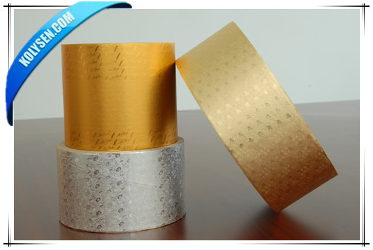 Kolysen aluminium gaufré feuille pour chocolat emballage