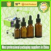 glassware wholesale 20ml e-liquid glass bottles childproof resistant dropper cap