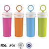 BPA free two part hot water plastic juice bottle for sale