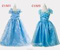 Las niñas y de género 2-8 años de la edad de las niñas vestido de cenicienta