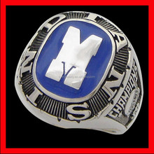 cheap custom championship ring stainless steel never fade