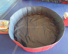 top products folding pet pool / animal pool folding