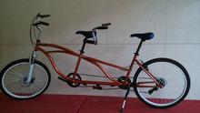 "Top sell steel frame 26""beach Tandem bike"