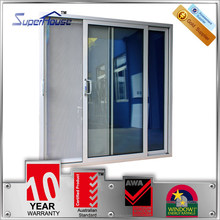 Modern Balcony door design/Australia standard Balcony sliding doors/Double glazed soundproof balcony aluminium door