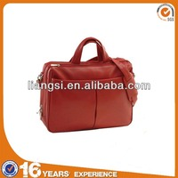 Eco-friendly leather custom 17.3 inch laptop bags for women