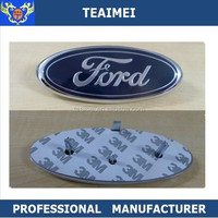 ABS chrome car logo grill front emblem badge for ford Mondeo