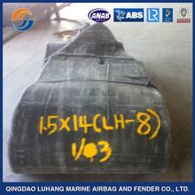 Dia.1.8m x L18m Marine Airbag Used For Salvage Pontoon Boat ship airbag