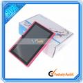 De buena calidad al por mayor de tablet pc a23 de doble núcleo 4.2 android con doble cámara de color rosa