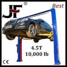 Best price 2 post legs hydraulic 2 floor dependent parking lift elevador de autos