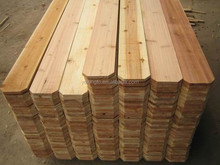 good quality cedar wood fence slat dog ear fence