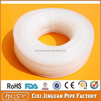Supply Food Grade Soft Silicone Tube, 7mm FDA Beer Milk Transparent Soft Silicone Tube, Soft Transparent Silicone Rubber Tube