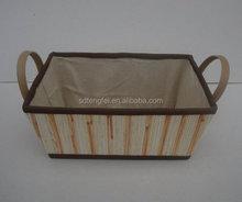 Handicraft mini bag made of rattan