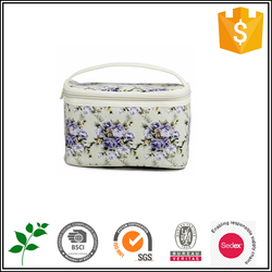 Cosmetic pouch foral bags women 2015