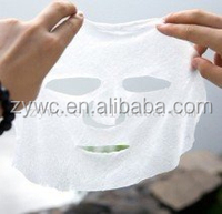 Parallel Lapping 100% Viscose Spunlace Nonwoven Fabric for Wet Tissue/Facial Masks/Cosmetic Pads
