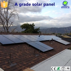 Guangzhou new product 100W monocrystalline solar panel for home