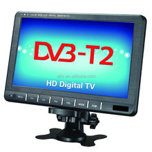 120-150Km/h HD digital TV with DVB-T2,DVB-T,ISDB-T,ATSC