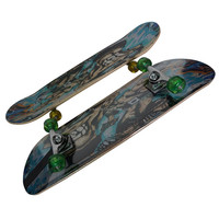 3108BC-9VT5036B wooden chinese maple four wheels graphic concave skateboard