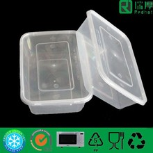 Recycled Eco-Friendly Disposable Container for Food Packing 500ml