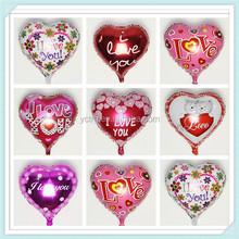Hot sale Wholesale Party decoration heart shape foil balloon