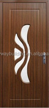 2015 Top Design Interior Wooden MDF Kerala pvc flush door