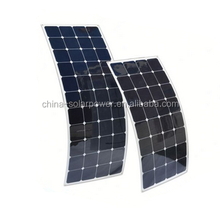Sell off portable type 60w mono flexible solar panel for RV/caravans/golf cars/boats