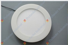 Ultra thin 6000K house and office round led panel light