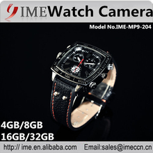 China factory max built in 32gb night vision 1080p best hidden watch camera for webcam, photo and video recording