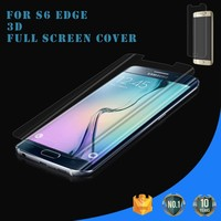 Full Cover TPU Material Anti Glare Mobile phone screen protector for samsung galaxy s6 edge / screen protector samsung s6 edge