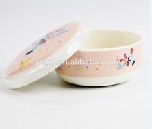 melamina bowl con tapa