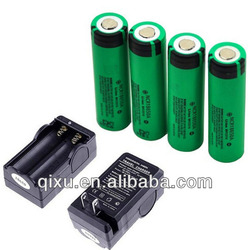 High quality 18650 3.7V 3100mAh Lithium battery for panasonic rechargeable battery
