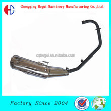 high polished universale stainless steel muffler china motorcycle spare parts