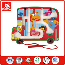 kids learn hands ablity toys bus shape magnetic brad naze games board and metal beads educational toys magnetic toys puzzles