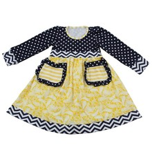 2015 girl dress cotton dresses for girls of 7 years old
