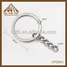 Fashion high quality wholesale split o ring chains