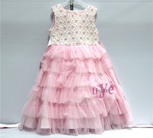 Baby Girl Party Dress Children Frocks Designs For Birthday 1-12 Years Old