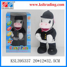Happy horse plush toys/ hand can adjust different posture,shake head