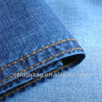 cotton stretch woven denim fabric for shirt and dress