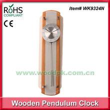 Woodpecker wood wall clock glass clock modern cuckoo clock
