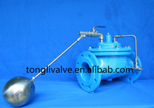 hydraulic water level control valve with floating ball for water tank