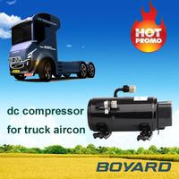 r134a mini air compressor 12V/24V KFB164Z24 2350W for solar powered air conditioner for automobiles & motorcycles