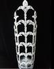 "25"" rhinestone flower custom big pageant crown for sale"