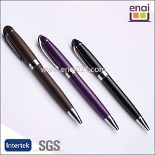 vintage style twist ball pen with metal hair shape clip for promotion and gift in business