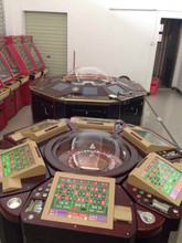 2015 HOT SELLING TRINIDAD 6 & 12 players electronic roulette machine for sale
