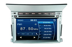2 Din Car DVD Player for Honda Pilot (2009-2012) with built-in GPS, Dual Zone,Digital Panel, RDS,Steering Wheel (TID-9201)
