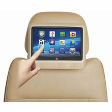 New design touch screen 10.1 inch car headrest dvd with USB SD FM IR GAMES