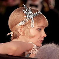 DINAH great gatsby crown bridal wedding hair accessories factory sale high quality with good price XB06